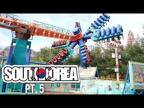 EVERLAND THEME PARK! (South Korea 2015 #5)