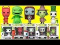 Tim Burton's Nightmare Before Christmas Funko Pop with Oogie Boogie, Sally & Jack