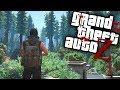 GTA V ZOMBIES - Enfrentando MUITOS ZUMBIS na FLORESTA (GTA 5 MOD Survival Zombie)