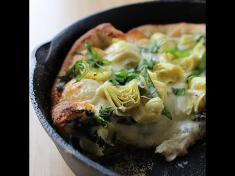 Spinach & Artichoke Deep Dish Pizza