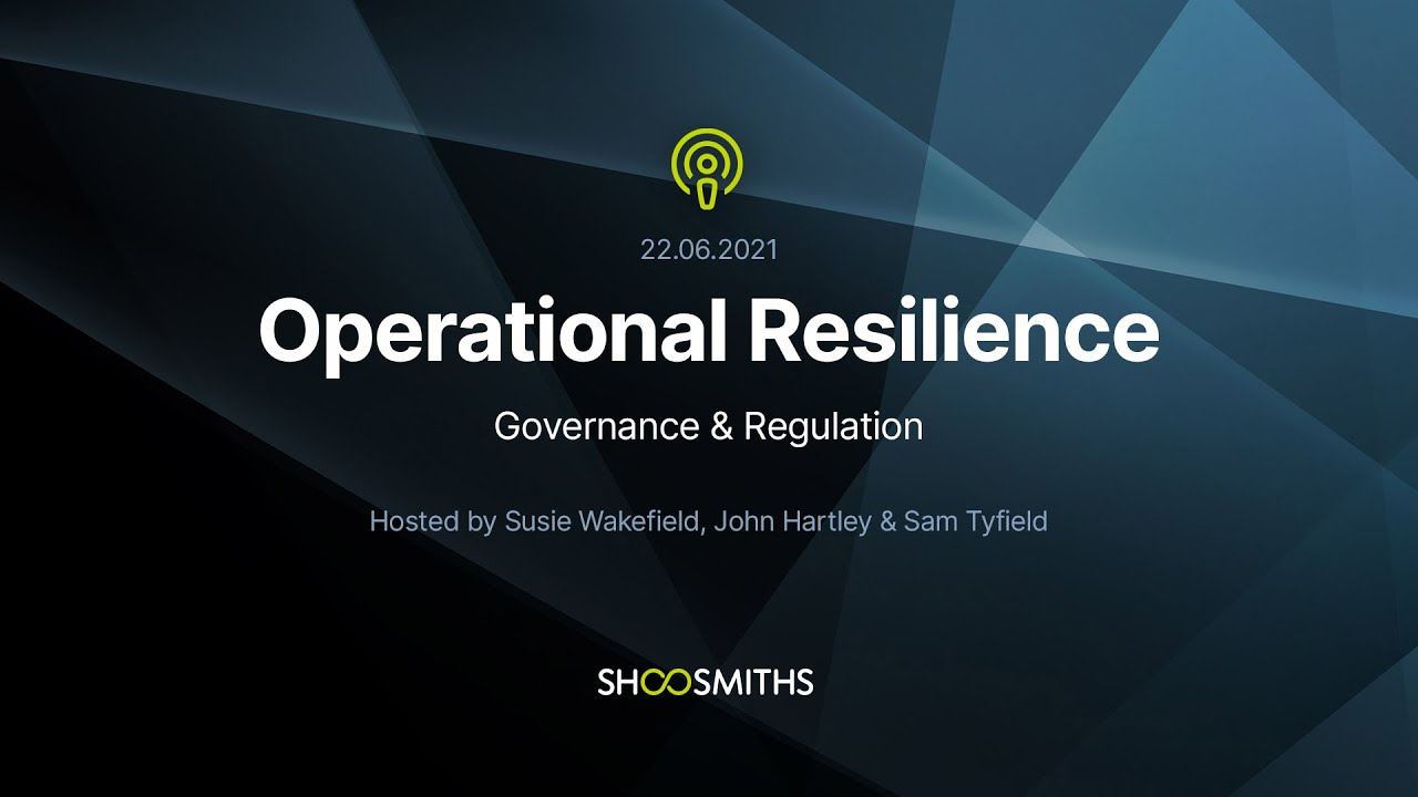 Missed our last Operational Resilience webinar? Watch it here