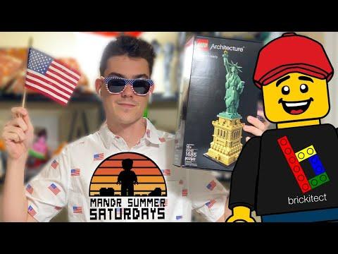 🔴 LEGO Statue Of Liberty LIVE BUILD W/ Brickitect! (M&R Summer Saturdays 2020)