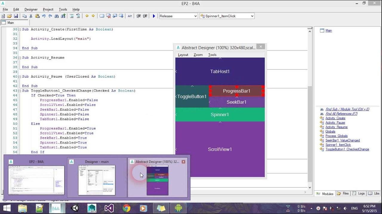 آموزش اندروید pdf - برنامه نویسی اندروید|برنامه نویسی اپلیکیشن ...... آموزش کار با VIEW ها و DESIGNER در محیط بیسیک 4 اندروید(part 2 .