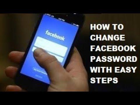 Change Facebook (FB) Password in Mobile/PC 2017-2018 (100% Working Method)