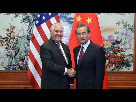 Chinese Foreign Minister meets with US Secretary of State
