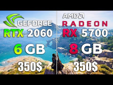 RTX 2060 vs RX 5700 Test in 10 Games