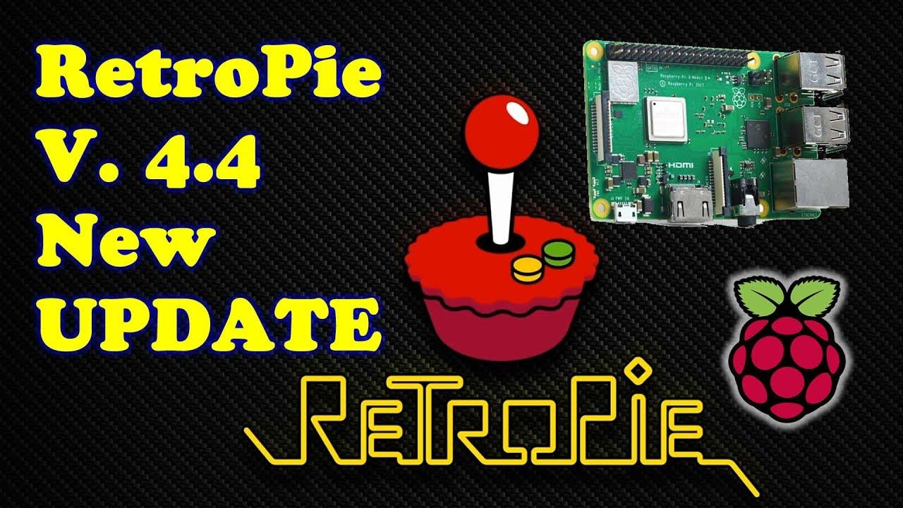RetroPie 4 4 Update Is Out Raspberry Pi 3 B Plus Support - Arcade Punks