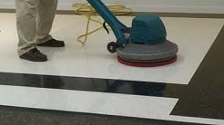 Floor Maintainers Part 2- Spray Buffing with a Low Speed Machine