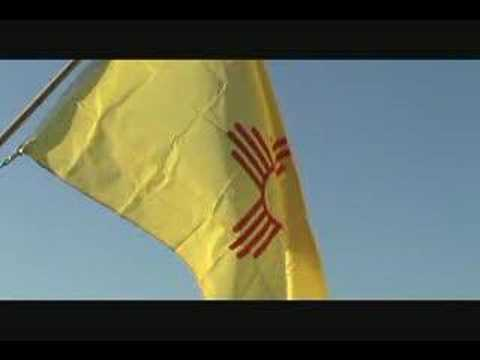 New Mexico State Flag and State Song - YouTube