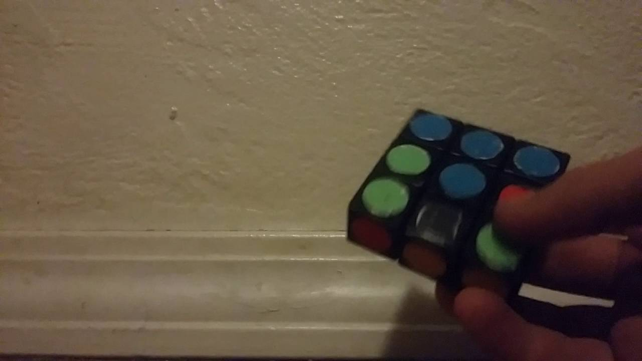 How To Solve A 1 X 1 X 3 Rubik's Cube