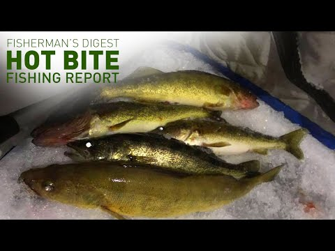 Ice Fishing Two Ways! - Hot Bite Fishing Report