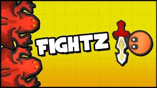I HAVE THE POWER! Fighting Dragons & Becoming Powerful! - Fightz.io Gameplay