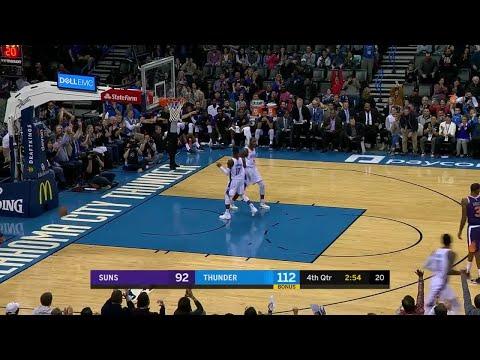 4th Quarter, One Box Video: Oklahoma City Thunder vs. Phoenix Suns