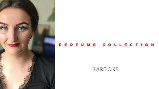 My perfume collection june 2017 | part one