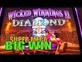 Wicked Winnings 2 Wonder 4.🔥😈Big Line Hit + 2 Super Free ...