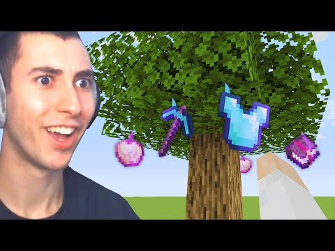 Download Minecraft UHC, But Trees Grow OP Items...