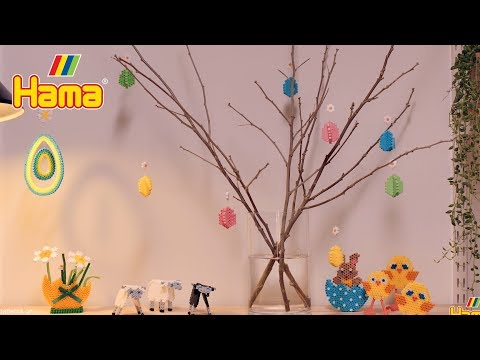 Hama beads - Easter decorations