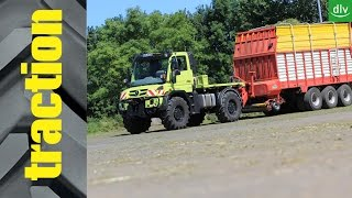 traction: Unimog U 530 im DLG PowerMix