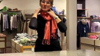 Gillblads inspirations tips nr1 - knyta sjalen