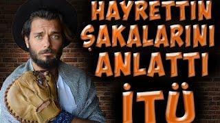 HAYRETTİN ŞAKALARINI ANLATIYOR! | İstanbul Teknik Üniversitesi