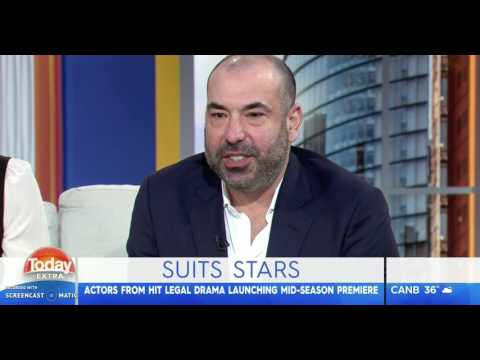 Sarah Rafferty and Rick Hoffman  Australian Today  9022017