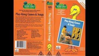 My Sesame Street Home Video Play-Along Games & Songs