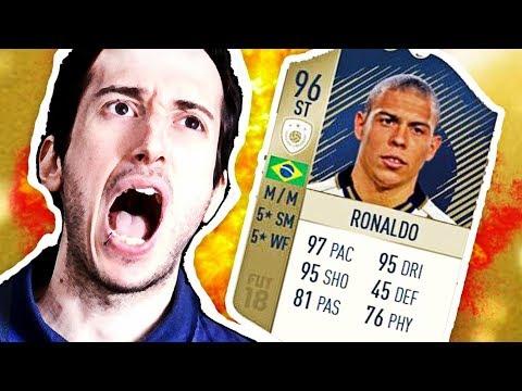 RONALDO FENOMENO 96 ICONA !!! L'ATTACCANTE PIÙ FORTE DI TUTTI I FIFA!! - fifa 18 ultimate team