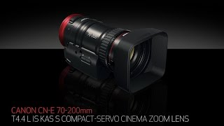 Introducing the Canon COMPACT-SERVO 70-200mm T4.4 Lens