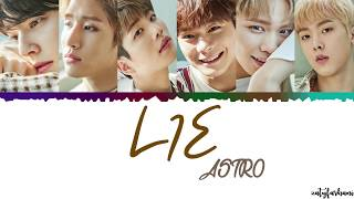 [3.11 MB] ASTRO - Lie (다 거짓말) Lyrics [Color Coded Han Rom Eng]