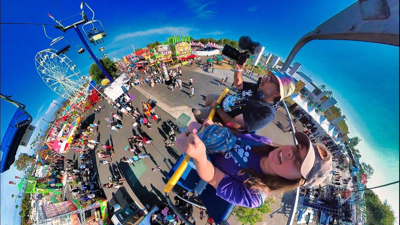 CRAZY Food & Rides at OC Fair 2021!