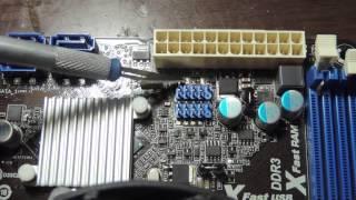 Мало питания USB или нет питания USB,не работает USB порт Arock H61M VG3(От КАС)