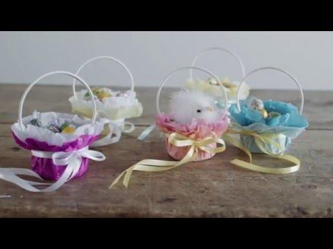 DIY: Easter decoration baskets by Søstrene Grene