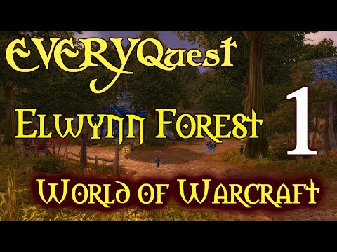Let's Play - EVERYquest - World Of Warcraft - Elwynn Forest (Human Warrior) Part 1