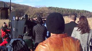 Tere Naina Song Jai Ho Shooting Romania