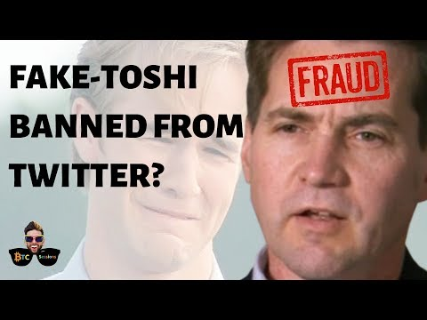 Fraud Craig Wright Twitter Ban? | Continue to #DeleteCoinBase | Samourai Tor Support