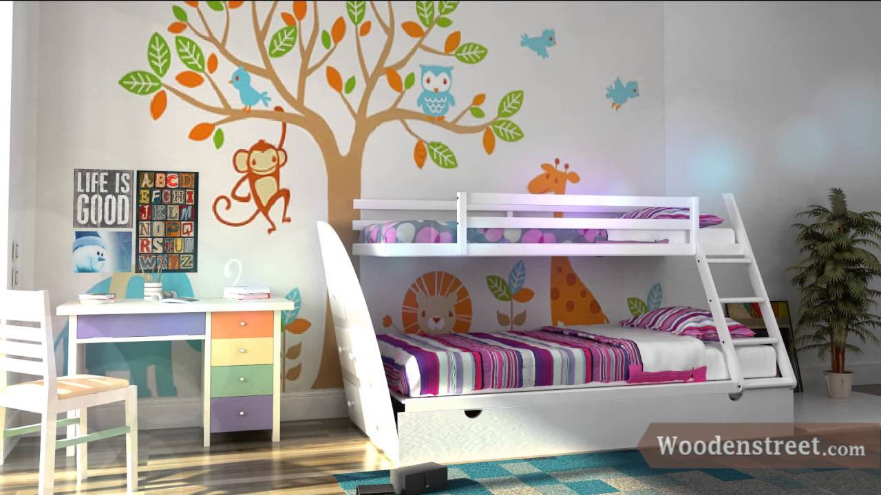 customized kids room furniture online in india @ wooden street