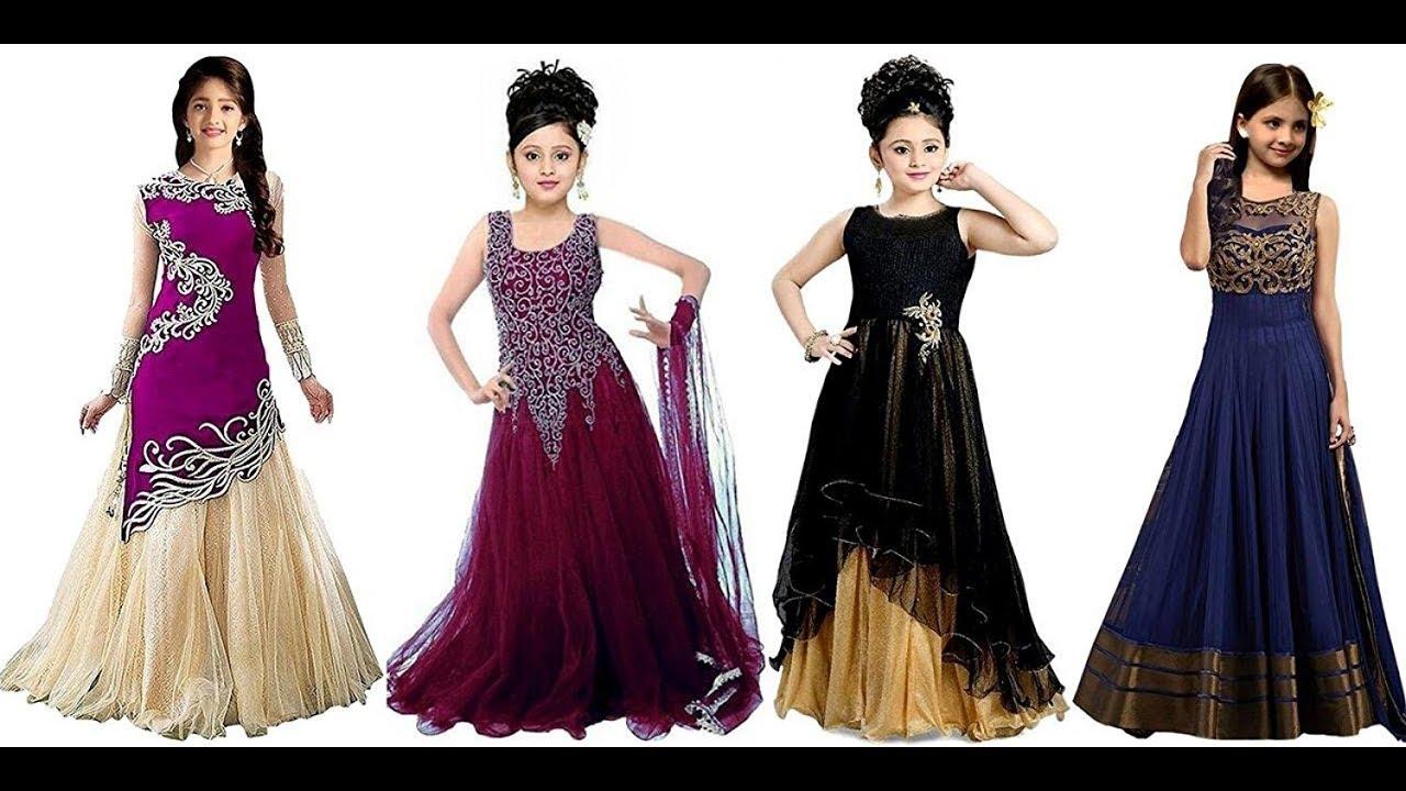 30effe8d92fe2 NEW FANCY DRESSES FOR LITTLE GIRLS,PUNJABI DRESSES FOR GIRLS, BUY ONLINE  DRESSES FOR CHILDREN