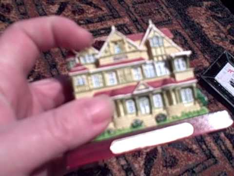 Winchester Mystery House Figurine and More: Thrift Store Finds!