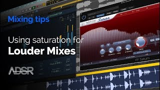 Download Mp3 Using Saturation For A Louder Mix - Mixing Tips