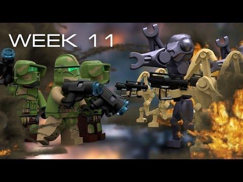 Building Kashyyyk in LEGO - Week 11: Advanced Prototyping