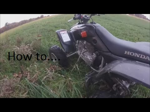 A Step-by-Step Guide on How to Drive a Manual ATV - Off-Road
