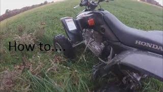 Як водити ATV ручна