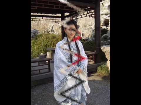 Han nationality traditional dress in China Chinese HanFu----汉服