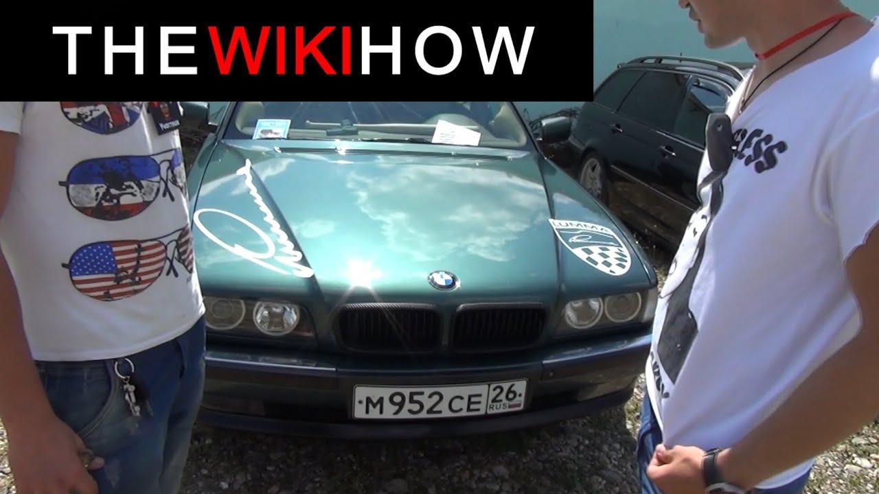 Кавказ Мотор Шоу 2013: #3 BMW E38