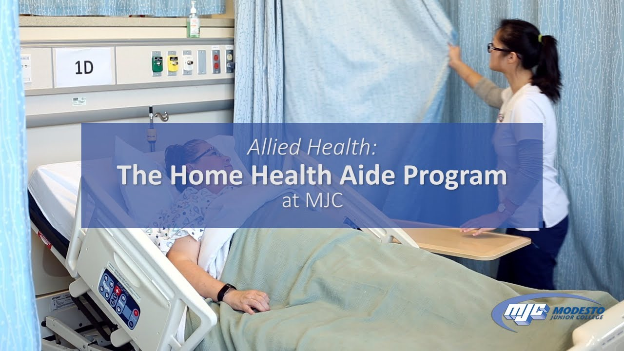 Home Health Aide >> The Home Health Aide Program At Mjc