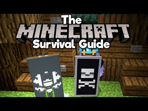 designing-custom-banners-&-shields!-▫-the-minecraft-survival-guide-(tutorial-lets-play)-[part-94]