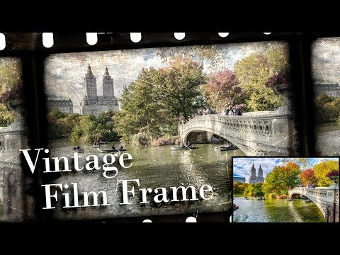 Photoshop: How To Transform Photos Into Vintage Movie Film Frames (CC & Later)
