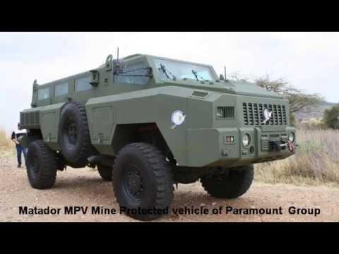 Matador MPV Mine protected vehicle Paramount Group AAD 2012 Africa ...