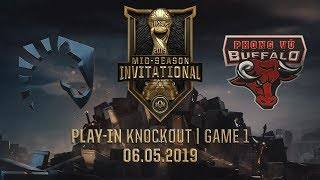 TL vs PVB [MSI 2019][06.05.2019][Play-in Knockout][Game 1]