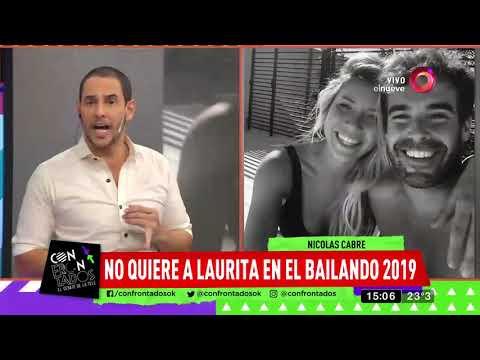 Cabré no quiere a Laurita en el Bailando 2019